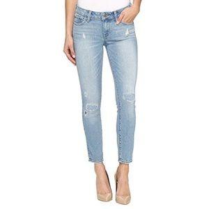 Lucky Brand Lolita Skinny Capri Distressed Jeans